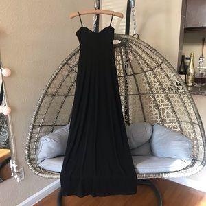 Laundry by Shelli Segal Maxi Cocktail dress -Black